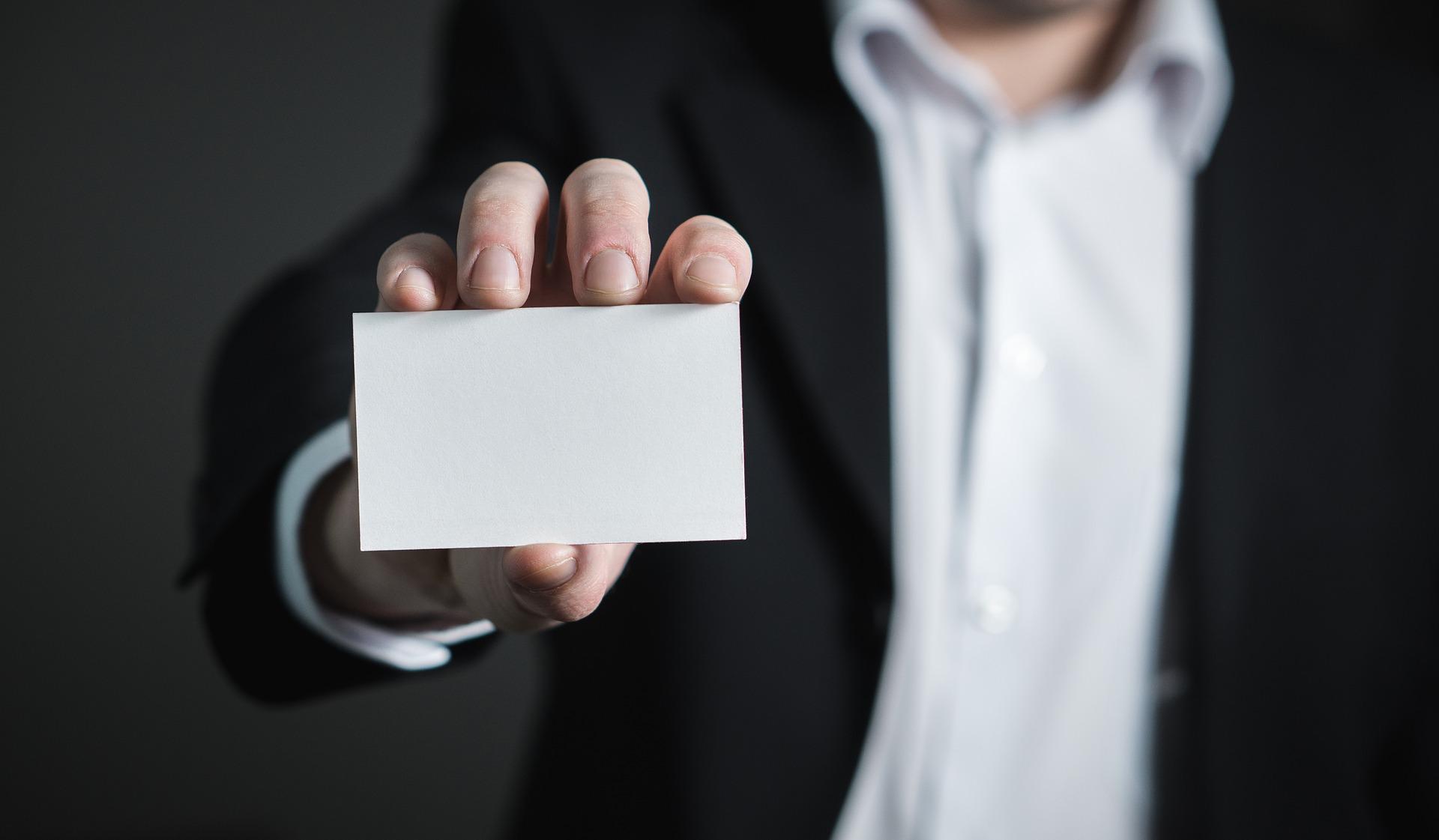 So Wichtig Sind Die Visitenkarten Im Geschäftsleben Job Hotel